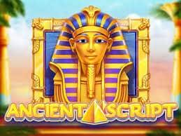Ancient Script สล็อตอักษรอียิปต์โบราณ