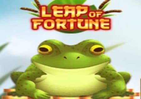 Leap Of Fortune สล็อตกบนำโชค